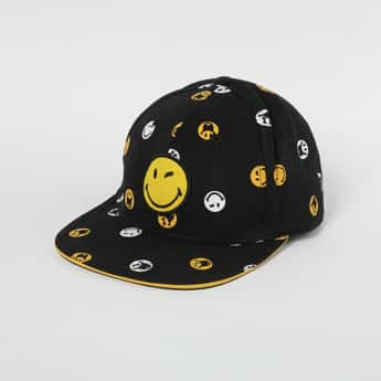 SMILEY Emoji Print Baseball Print