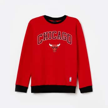 NBA Printed Full Sleeves Sweatshirt
