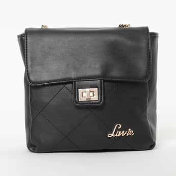 LAVIE Quilted Flap-Closure Sling Bag