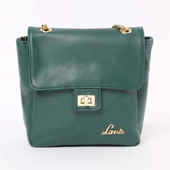 LAVIE Sling Bag with Stitched Detail