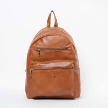 LAVIE Solid Zip-Closure Backpack