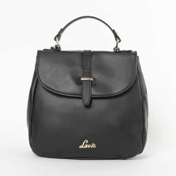 LAVIE Solid Sling Bag with Detachable Strap