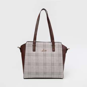 LAVIE Checked Handheld Bag