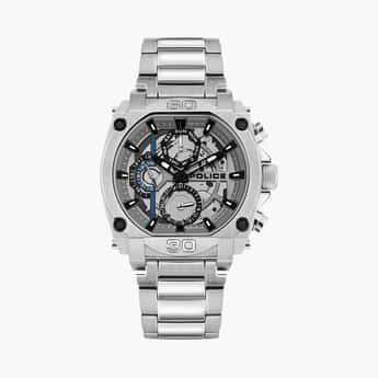 POLICE Men Water-Resistant Multifunctional Watch - PL15472JS13MW