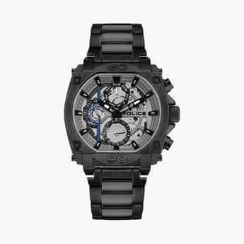 POLICE Men Water-Resistant Multifunctional Watch - PL15472JSB13MW
