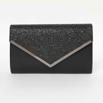 CODE Shimmery Party Envelope Clutch