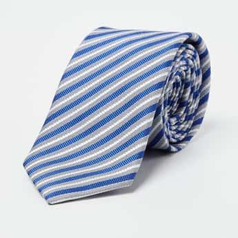 CODE Striped Broad Tie