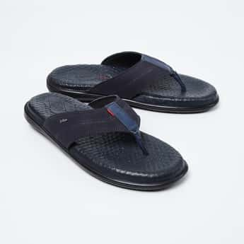 LEE COOPER Perforated Slippers with Cushioned Footbed