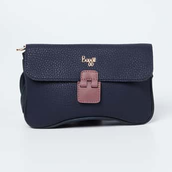 BAGGIT Textured Clutch with Sling