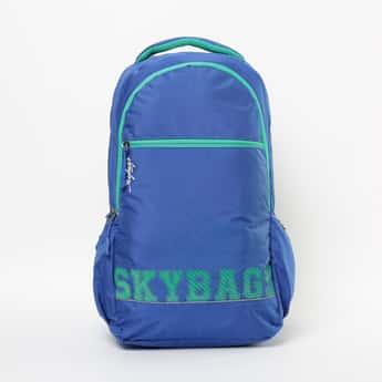 SKYBAGS Printed Zip-Closure Backpack