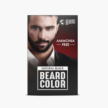 BEARDO Beard Color For Men - Natural Black