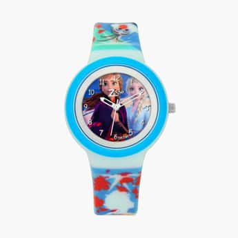 ZOOP Girls Disney Princess Print Water-Resistant Analog Watch - 26006PP06