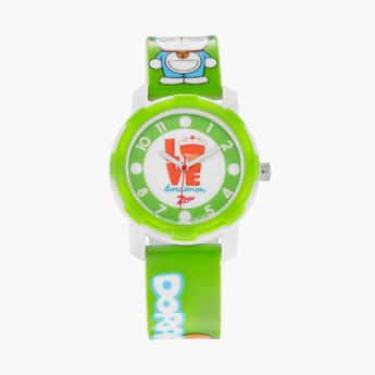 ZOOP Kids Doraemon Print Water-Resistant Analog Watch - 26015PP02F