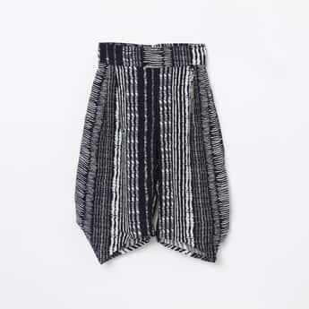 PEPPERMINT Printed Elasticated Dhoti Pants