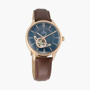 TITAN Men Water-Resistant Automatic Watch - NM90111WL01