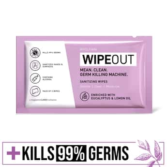 MYGLAMM Cleansing Wipes - Pack of 5