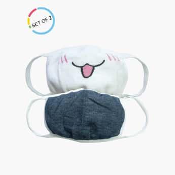 TONIQ KIDS 3-Layered Light-Weight Face Masks - Pack of 2 Pcs.