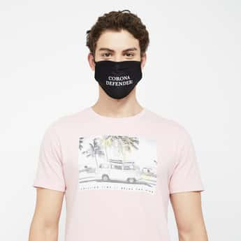 FAME FOREVER Men Printed Reusable Mask