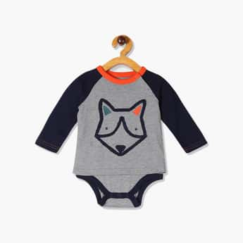 GAP Baby Boys Long Sleeve Graphic Print Bodysuit