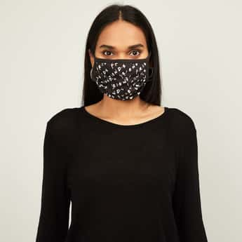 FREE AUTHORITY  Women Printed Face Mask