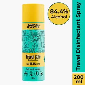 NYKAA Travel Safe Multipurpose Disinfectant Spray with Alcohol