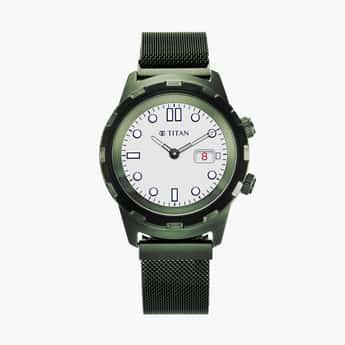 TITAN Men Analog Smartwatch- 90116QM01