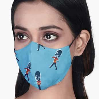 RAHO SAFE Women 3-Layered Printed Mask