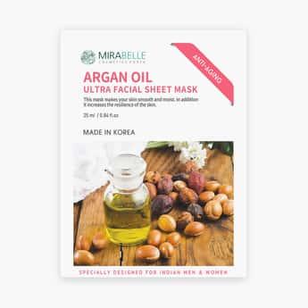 MIRABELLE Korea Ultra Facial Sheet Mask- Argan Oil