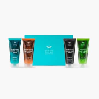BOMBAY SHAVING COMPANY 4x1 Face and Body Wash Pack