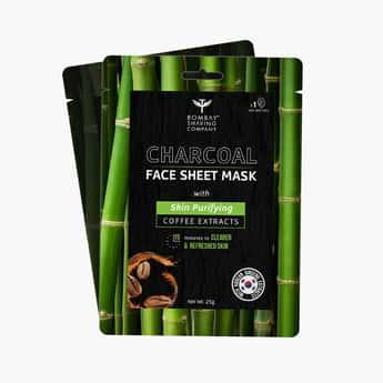 BOMBAY SHAVING COMPANY Charcoal Face Sheet Mask