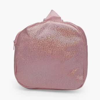 STOLN Girls Glitter Zip-Closure Backpack