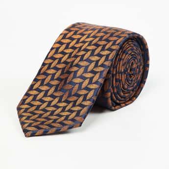 LOUIS PHILIPPE Men Patterned Formal Tie