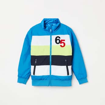 UNITED COLORS OF BENETTON Boys Colourblock Casual Jacket