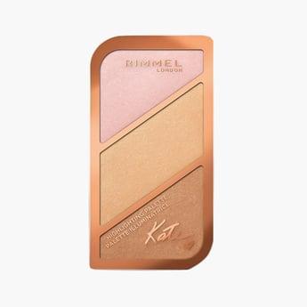 Rimmel Kate Face Highlighting Palette Kit Powder