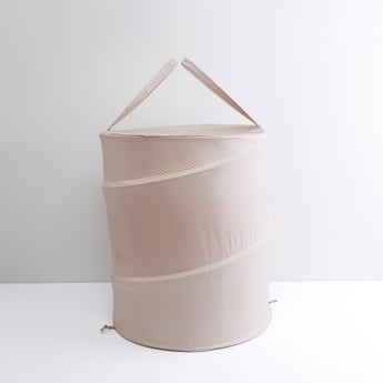 Spring Laundry Hamper with Handles