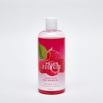 Fruit Essence Luscious Red Berries Shower Gel - 400 ml