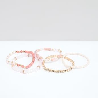 Assorted Studded Bracelet - Set of 5