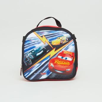 حقيبة غداء بطبعات كارز مع حزام قابلٍ للتّعديل