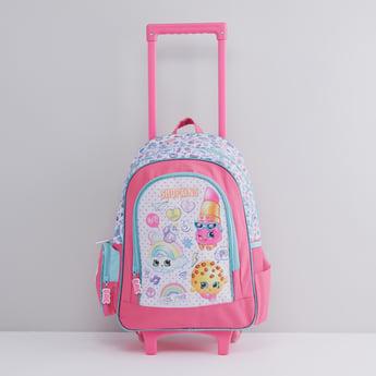 حقيبة ظهر بحمّالة كتف قابلة للتعديل مع طبعات جرافيك