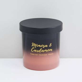 Mimosa and Cardamom Jar Candle with Lid