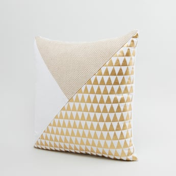 Printed Square Filled Cushion