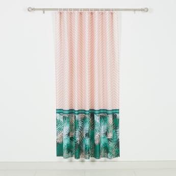 ستارة استحمام بطبعات - 180x180 سم