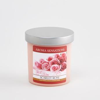 Aroma Sensations Scarlet Rose Candle Jar