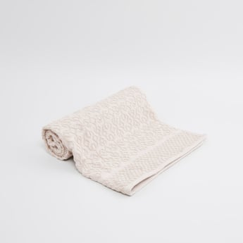 Patterned Rectangular Bath Towel