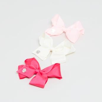 Set of 3 - Bow Hair Clip