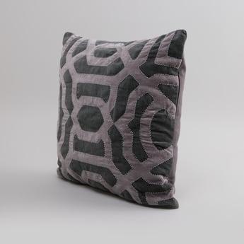 Embellished Square Cushion