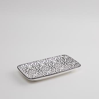 Printed Rectangular Plate - 23x12 cms