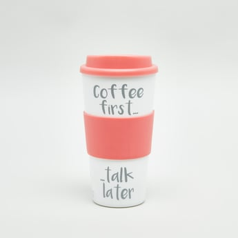 Printed Travel Coffee Mug wih Lid