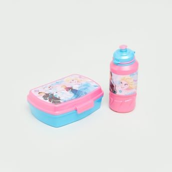 Frozen Printed Lunch Box and Water Bottle Set