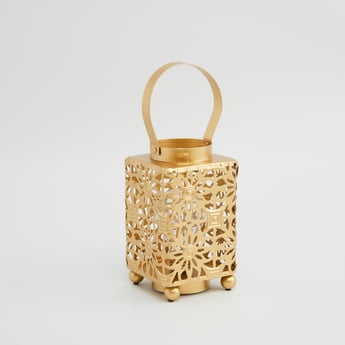 Laser Cut Detail Lantern Candle Holder